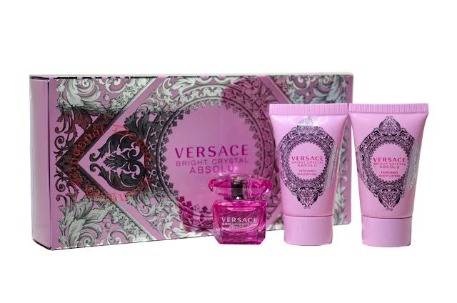Versace Bright Crystal Absolu Mini Perfume Set