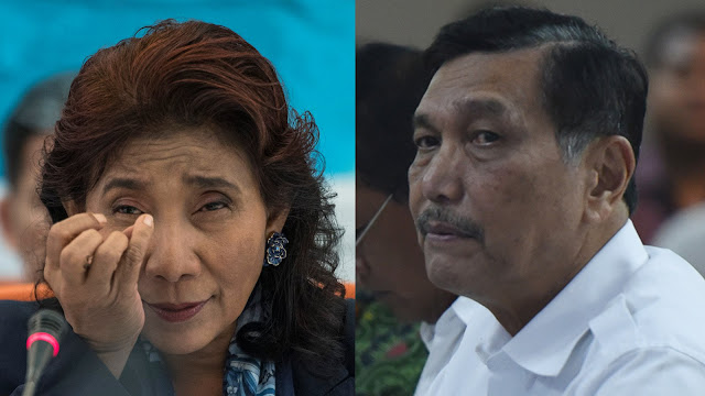 Diminta Luhut Setop Penenggelaman Kapal, Menteri Susi Beri Jawaban Menohok