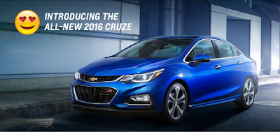 The 2016 Chevrolet Cruze guarantees convenience with the 24/7 Promise