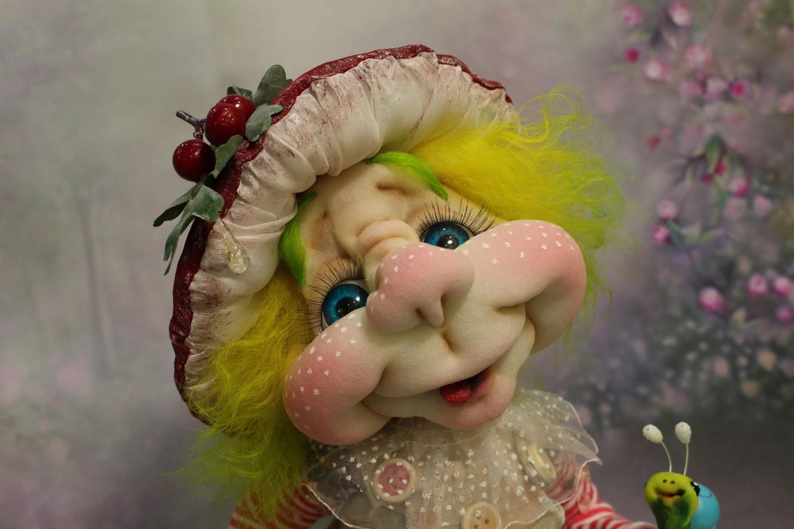 кукла в чулочной технике мастер класс судьба чтоб благосклонной