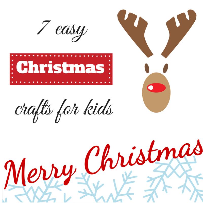 9 εύκολες Χριστουγεννιάτικες κατασκευές για τα παιδιά