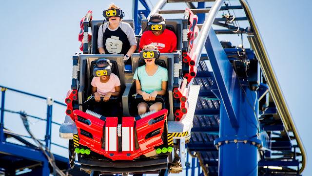 LEGOLAND Florida Resort presenta la primera aventura de montaña rusa de realidad virtual de América del Norte #BuiltForKids