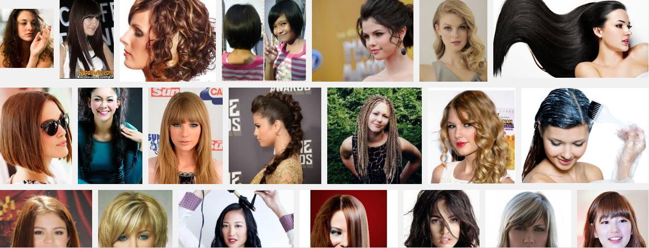 Model Rambut Rebonding dan Rambut Sambung Cantik