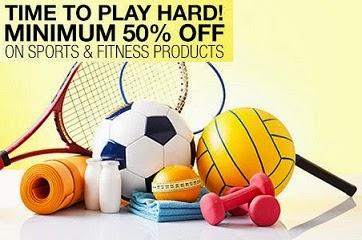 Mega Sale on Sports Gears: Min 50% Off on Sports & Fitness Products   Min 40% Off on Badminton Gears   Min 25% Off on Shuttles & Balls @ Flipkart