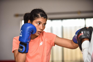 Nikhat Zareen progresses at Women's Nationals