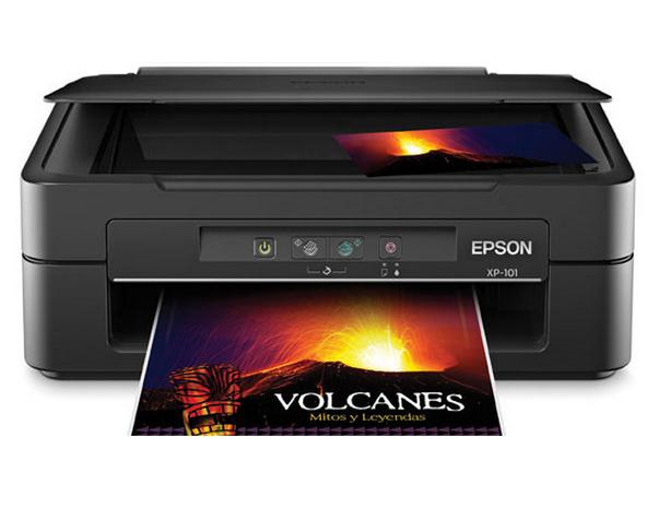 Epson xp-101 driver impresora. Descargar e instalar controlador.
