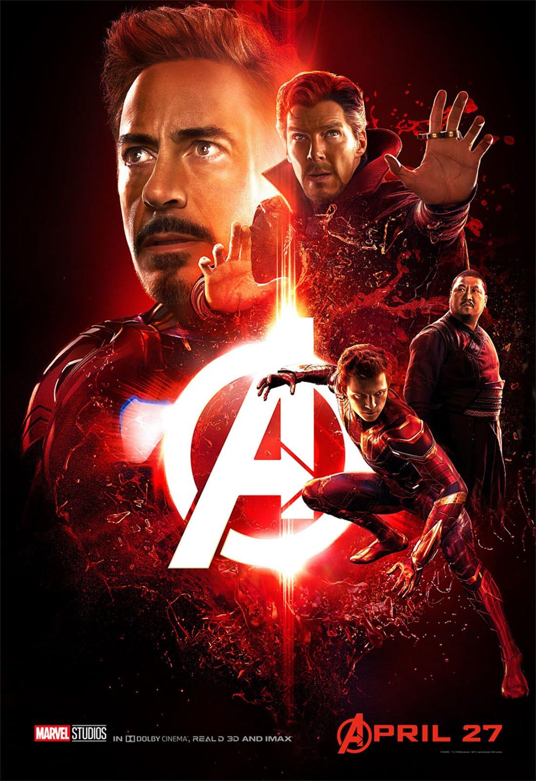 Avengers Infinity War 2018 Dual Audio Hindi 450MB New Audio HDTSRip 480p x264
