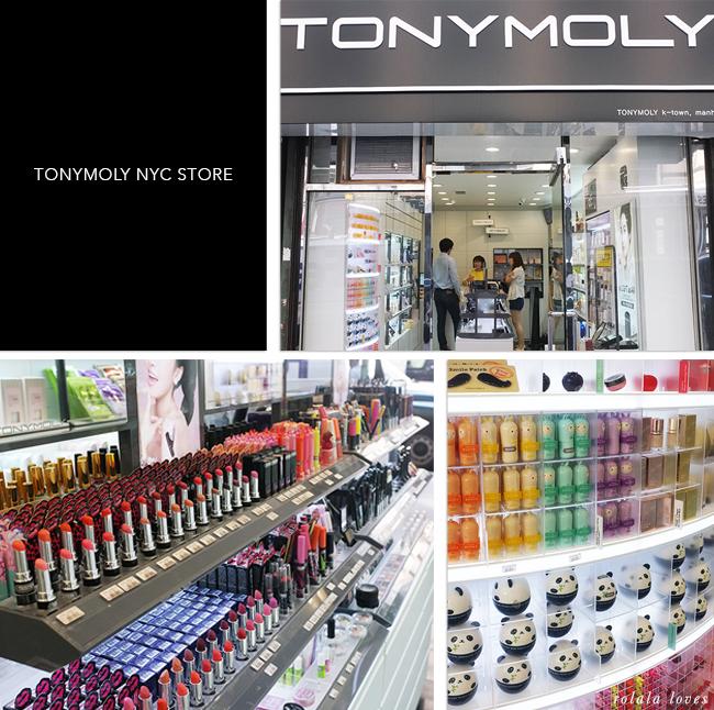 Tony Moly New York Store