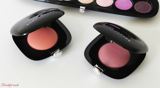 "Review... Marc Jacobs Shamless Blush ""Obsessed"" und ""Reckless"""