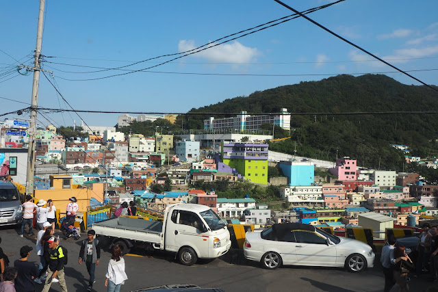 View of Gamcheon Street Life
