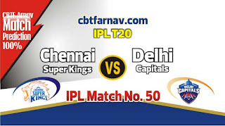 DEL vs CSK IPL T20 2019 50th Match Prediction Today Who Will Win