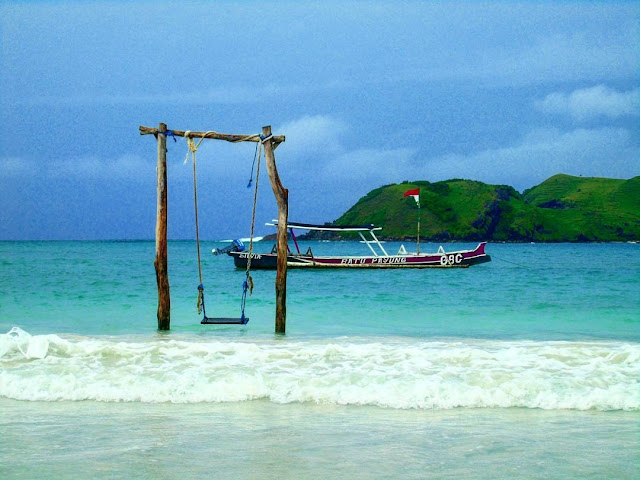 pantai tanjung ann lombok