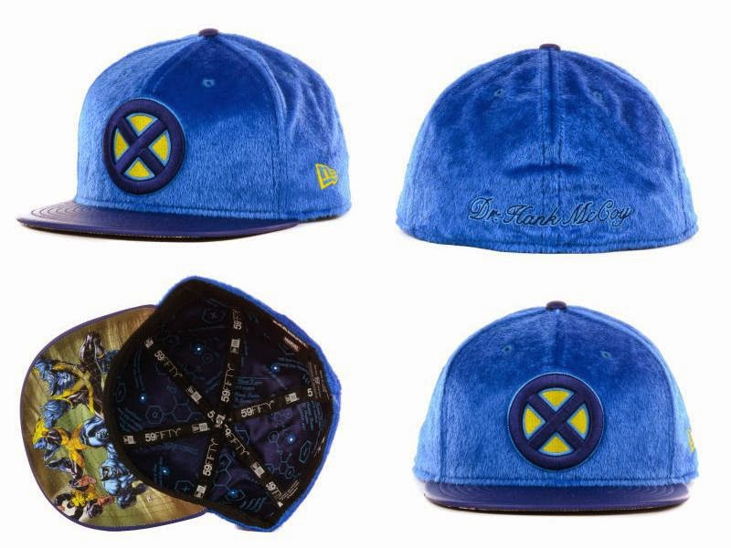 """Furry Beast"" X-Men Marvel 59Fifty Fitted Hat by New Era"