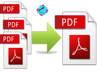 بالصور دمج ملفات pdf  من دون برامج بكبسة زر ! إليك معلومة