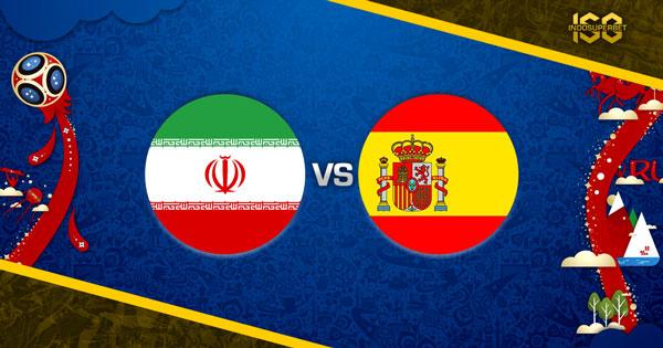Prediksi Iran vs Spanyol 21 Juni 2018