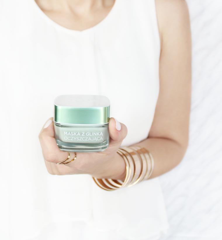 Ulubione kosmetyki 2016 roku - Pielęgnacja - L`Oreal Paris Pure Clay Mask Oczyszczająca maska z glinką
