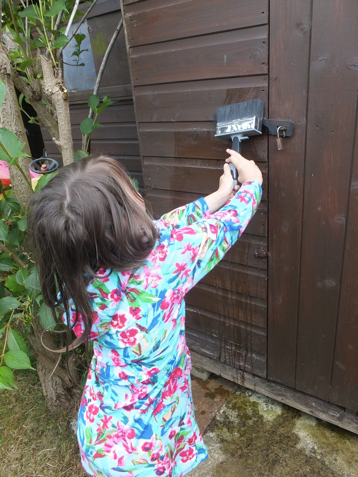 Garden Improvements Paint Your Fence With Wickes