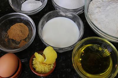 Ingredientes para rosquitos caseros