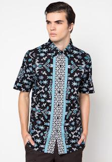 Model baju batik terbaru untuk pria modern