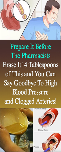 Prepare It Before The Pharmacists Erase It! 4 Tablespoons of This and You Can Say Goodbye To High Blood Pressure and Clogged Arteries! #HealthRemedies