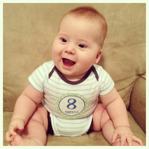 Baby Oliver 8 Months
