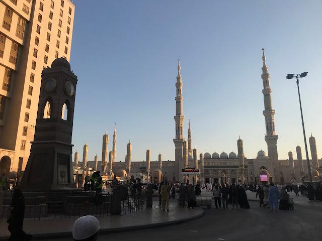 masjid nabawi, madinah