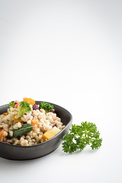 Barley & winter vegetable Risotto-