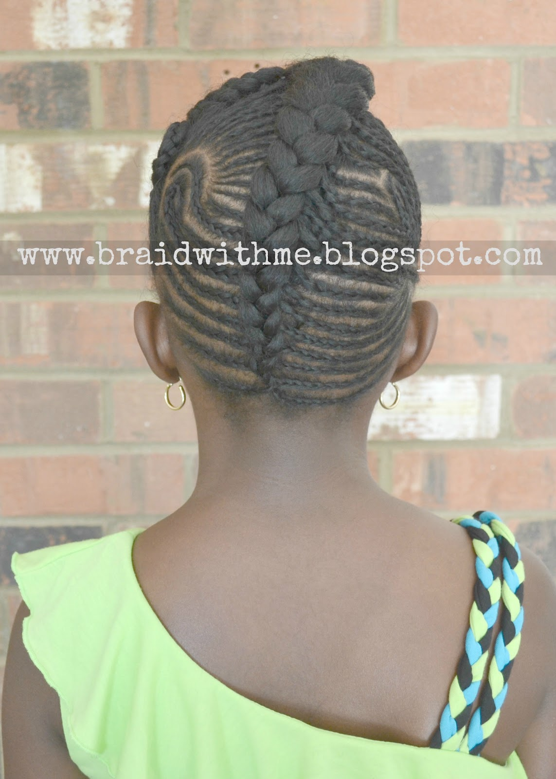 Beads Braids And Beyond Intricate Cornrow Updo On