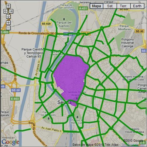 Carril Bici Sevilla Mapa.De Tapas En Bici Por Las Calles De Velo City Sevilla