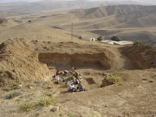 Oldest stone artefacts and cutmarked bones show early hominin presence in North Africa