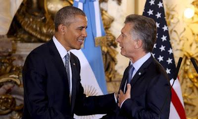 Argentina de Macri x Brasil da Dilma