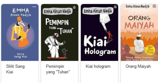 Download Buku (Ebook Gratis) Emha Ainun Nadjib PDF Lengkap