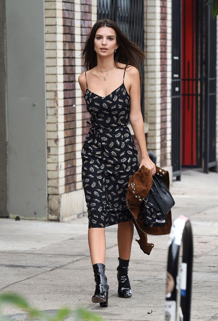 Emily Ratajkowski street style fashion