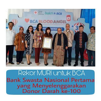 Donor darah Bakti BCA