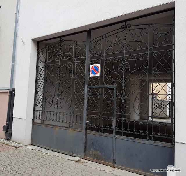 Warszawa Warsaw Stara Ochota kamienice przedwojenna zabudowa architektura Kolonia Lubeckiego brama