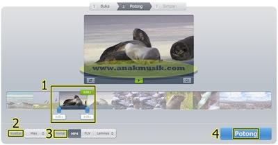 Cara Memotong Video Online Tanpa Sofware