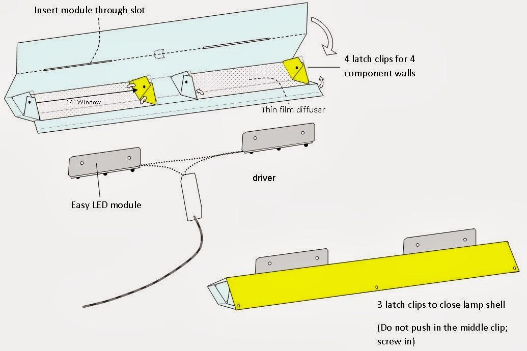 Easy LED Lighting: World Lamp assembly instruction