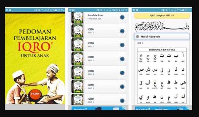 Aplikasi Belajar Baca Al-Qur'an - Iqra Digital
