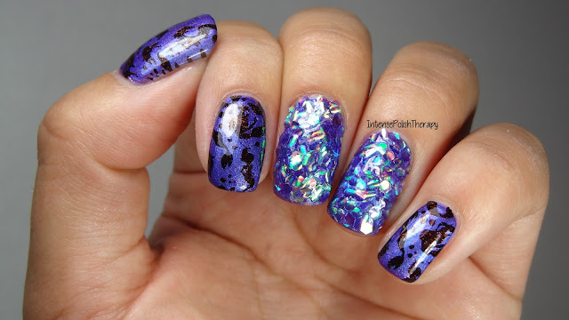 Mermaid Manicure | BornPrettyStore Fish Scale Glitter