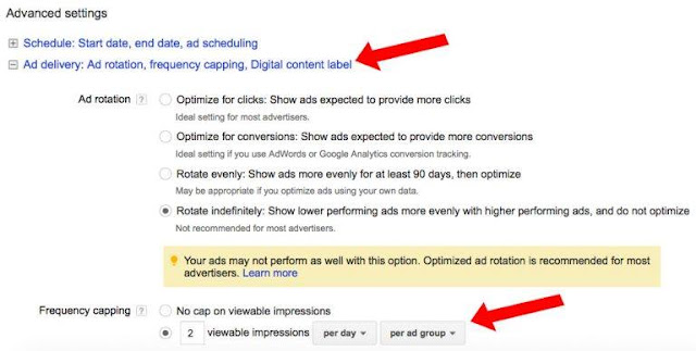 Sau khi hoàn thành các lựa chọn trên hãy đặt tên cho quảng cáo mạng hiển thị Google của bạn