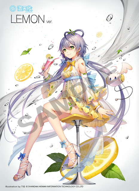 """Anunciada figura a escala de Luo Tianyi LEMON Ver. de """"Vocaloid"""" - Good Smile Company"""