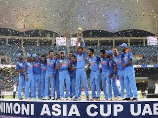 भारतीय क्रिकेट टीम एशिया कप 2018
