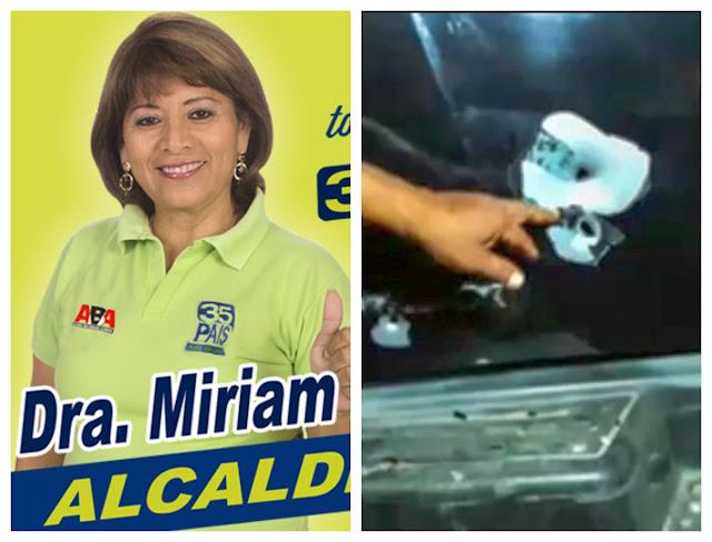 alcaldesa de Playas sufrió atentado