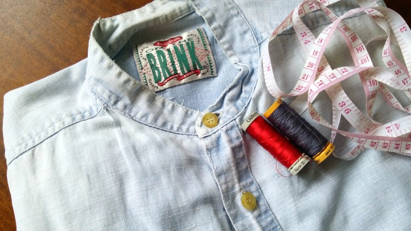 Using kintsugi to upcycle a top