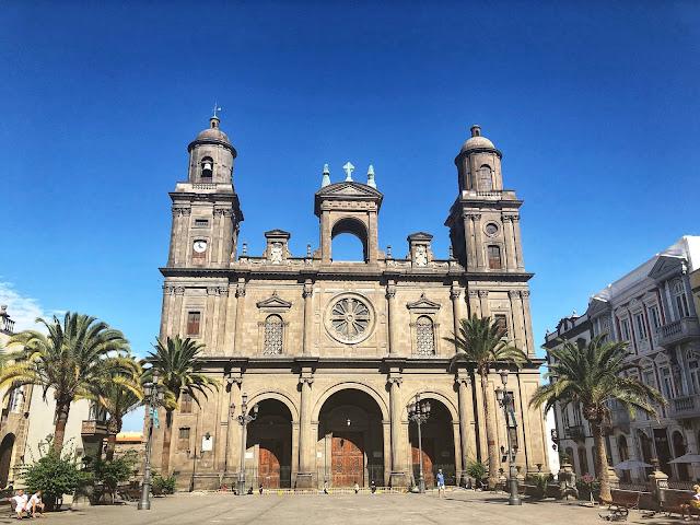 damazprowincji.blogspot.com, stolica, katedra, gran canaria, wyspy kanaryjskie