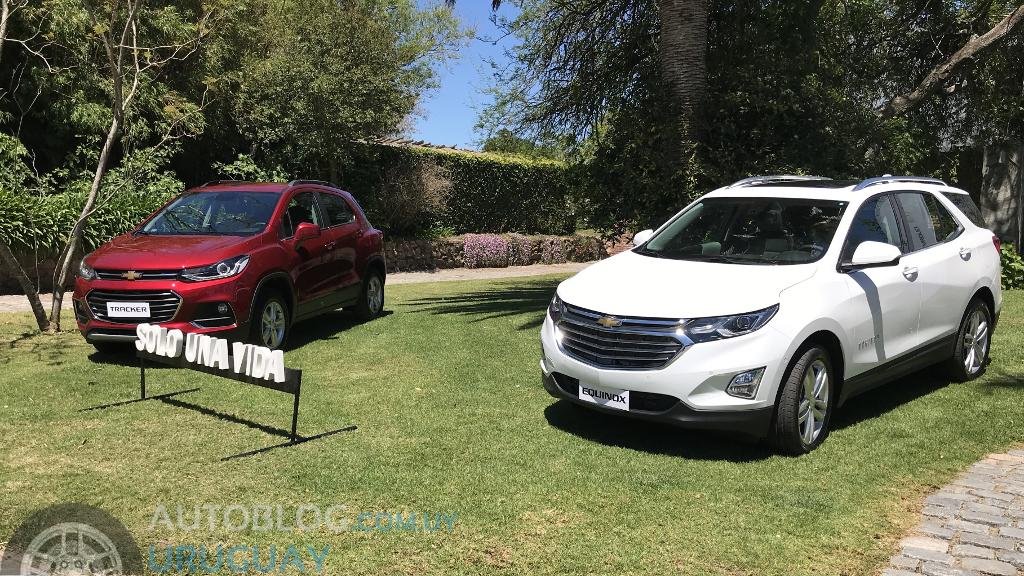 Apuntes del lanzamiento de los Chevrolet Equinox y Tracker ...
