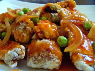 Resep Ikan Gulung Saus Tomat