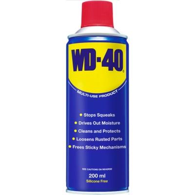 Spray WD-40 bun pentru indepartarea gumei de mestecat