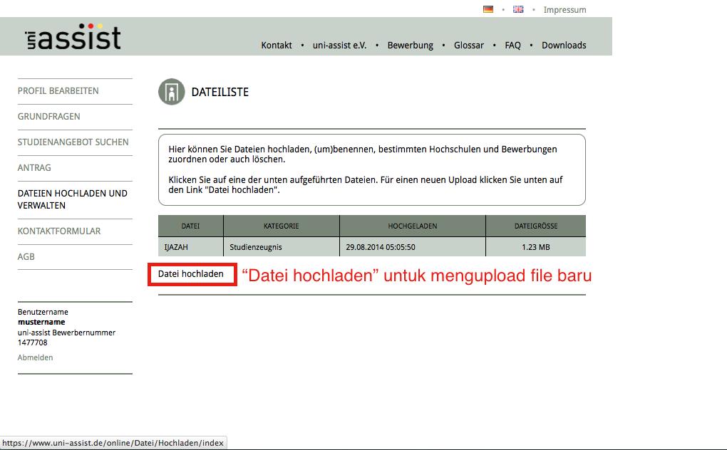 Uni Assist Antragsformular Ebook Download