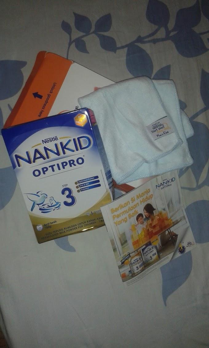 Terima Sampel Susu Nankid
